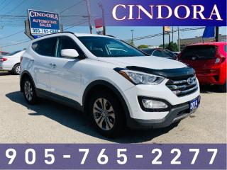 Used 2014 Hyundai Santa Fe Sport Premium, Heated Front & Rear Seats, Clean Carfax for sale in Caledonia, ON