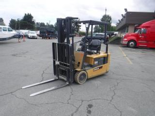 Used 2005 Caterpillar Forklift EP20Kt Electric Cat (Electric 3 Wheel Sit Down) for sale in Burnaby, BC