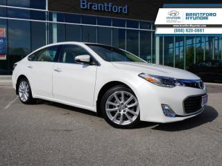 Used 2015 Toyota Avalon 1 OWNER | HEATED SEATS | NAV | BACK UP CAM  - $160 B/W for sale in Brantford, ON