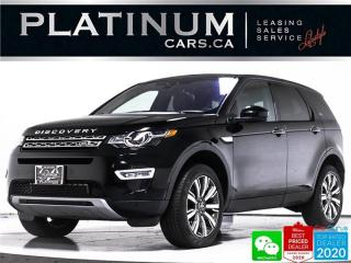 Used 2017 Land Rover Discovery Sport HSE Luxury, AWD, NAV, PANO, CAM, HEATED STEERING for sale in Toronto, ON