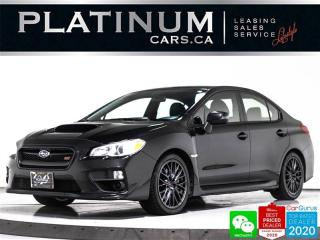 Used 2015 Subaru WRX STI, 305HP, MANUAL, CAM, BLUETOOTH, DCCD for sale in Toronto, ON