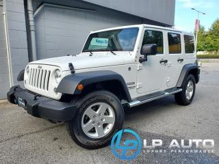 Used 2016 Jeep Wrangler UNLIMITED SPORT for sale in Richmond, BC