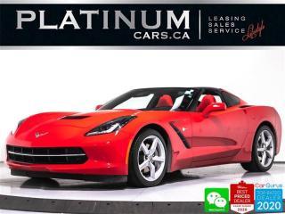 Used 2015 Chevrolet Corvette Stingray, 2LT, 455HP, AUTO, TARGA, NAV, CAM, HUD for sale in Toronto, ON