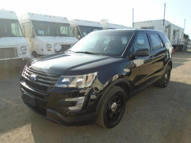 2017 Ford Police Interceptor Utility AWD 4DR