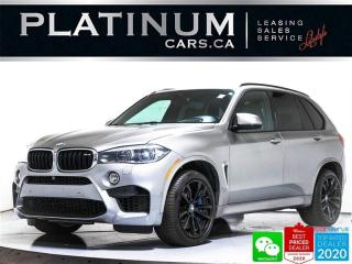 Used 2016 BMW X5 M 567HP, EXEC PKG, CARBON, NAV, HUD, PANO, 360 for sale in Toronto, ON