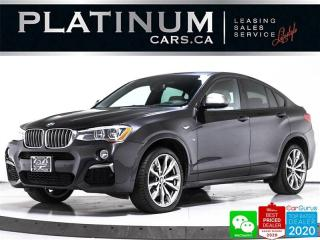 Used 2017 BMW X4 M40i, xDrive AWD, EXEC, PREMIUM, NAV, CAM, SUNROOF for sale in Toronto, ON