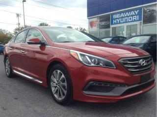 Used 2017 Hyundai Sonata Sport - Technology Package - Bluetooth for sale in Cornwall, ON