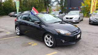 Used 2014 Ford Focus Titanium **SUNROOF / NAV / CAM / LEATHER SEATS** for sale in Mississauga, ON
