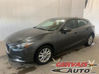 Used 2018 Mazda MAZDA3 GS Sport GPS Caméra Bluetooth Mags *Transmission Automatique* for sale in Trois-Rivières, QC