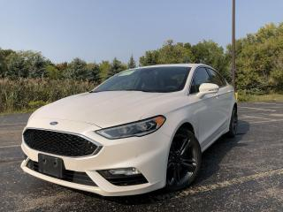 Used 2017 Ford Fusion SPORT AWD for sale in Cayuga, ON