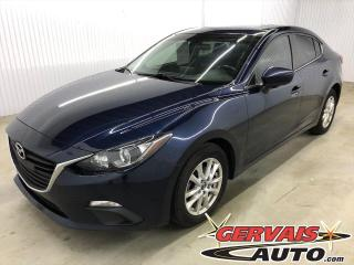 Used 2016 Mazda MAZDA3 GS GPS Toit Ouvrant Mags *Transmission Automatique* for sale in Trois-Rivières, QC