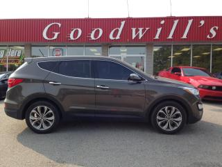 Used 2013 Hyundai Santa Fe GLS! HEATED LEATHER! B/T! HEATED STEERING WHEEL! for sale in Aylmer, ON