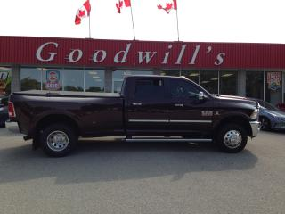 Used 2015 RAM 3500 LARAMIE! 3500! DUALLY! 6.7L! TURBO DIESEL! LOADED! for sale in Aylmer, ON