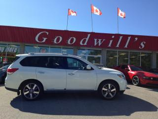 Used 2015 Nissan Pathfinder PLATINUM! 7 PASS! HEATED & COOLED LEATHER! NAV! for sale in Aylmer, ON