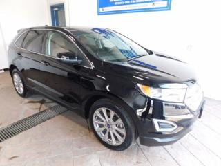 Used 2017 Ford Edge Titanium  LEATHER NAVI SUNROOF AWD for sale in Listowel, ON