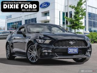 Used 2016 Ford Mustang EcoBoost Premium for sale in Mississauga, ON