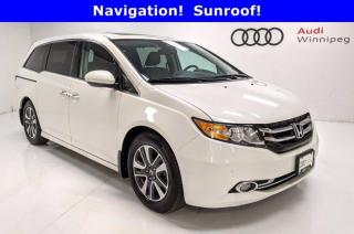 Used 2014 Honda Odyssey Touring w/Leather & DVD for sale in Winnipeg, MB