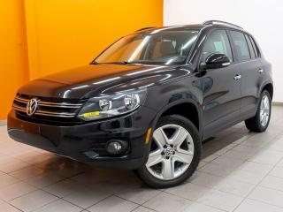 Used 2016 Volkswagen Tiguan 4MOTION NAV SIÈGES CHAUFFANTS CUIR *TOIT PANO* for sale in St-Jérôme, QC