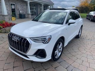 Used 2020 Audi Q3 Sline Progressiv 45 TFSI quattro for sale in St-Eustache, QC