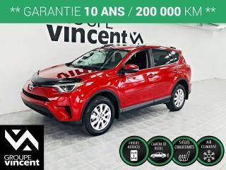 Used 2016 Toyota RAV4 LE AWD ** GARANTIE 10 ANS ** Réputé pour sa fiabilité! for sale in Shawinigan, QC