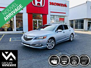 Used 2014 Acura RLX CUIR GPS ** GARANTIE 10 ANS ** Véhicule de grand luxe à prix très abordable! for sale in Shawinigan, QC