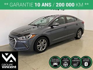 Used 2017 Hyundai Elantra GL ** GARANTIE 10 ANS ** Bas kilométrage! for sale in Shawinigan, QC