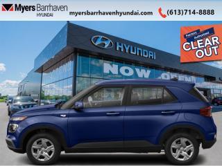 New 2021 Hyundai Venue Preferred IVT  - Aluminum Wheels - $148 B/W for sale in Nepean, ON