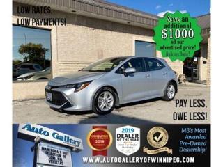 Used 2019 Toyota Corolla Hatchback SE* Hatchback/Bluetooth/HEATED SEATS for sale in Winnipeg, MB