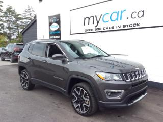 Used 2018 Jeep Compass Limited LEATHER, SUNROOF, HEATED SEATS!! for sale in Richmond, ON