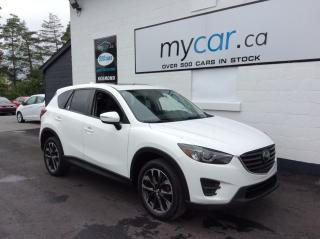 Used 2016 Mazda CX-5 GT LEATHER, SUNROOF, NAV, HEATED SEATS!! for sale in Kingston, ON