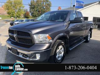 Used 2016 RAM 1500 Cabine quad 4RM Outdoorsman for sale in Shawinigan, QC