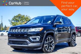 Used 2019 Jeep Compass Limited 4x4 Navigation Panoramic Sunroof Bluetooth Backup Camera Remote Start Leather 19
