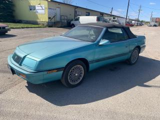 Used 1992 Chrysler LeBaron Original,Clean Underbody,New tires,Sold As is.Conv for sale in Ajax, ON