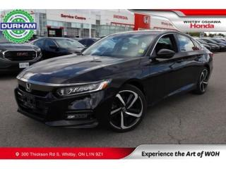 Used 2018 Honda Accord Sport 2.0T for sale in Whitby, ON