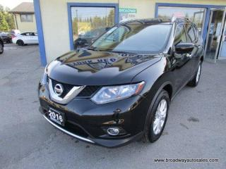 Used 2016 Nissan Rogue ALL-WHEEL DRIVE SV EDITION 5 PASSENGER 2.5L - DOHC.. NAVIGATION.. HEATED SEATS.. PANORAMIC SUNROOF.. BACK-UP CAMERA.. BLUETOOTH SYSTEM.. for sale in Bradford, ON