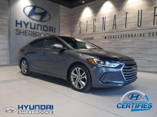 Used 2017 Hyundai Elantra GLS CAMERA TOIT BANCS CHAUF BLUETOOTH for sale in Sherbrooke, QC