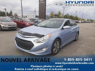 Used 2015 Hyundai Sonata Hybrid LIMITED+TOIT PANO+CAMERA+BANCS CHAUFFANT for sale in Sherbrooke, QC