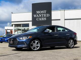 Used 2017 Hyundai Elantra LIMITED|NAV|ROOF|LEATHER|BLIND|CAMERA|XENON for sale in Kitchener, ON