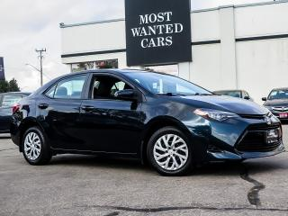 Used 2017 Toyota Corolla LE LDW ACC REAR CAMERA TOUCHSCREEN NO ACCIDENTS for sale in Kitchener, ON