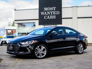 Used 2018 Hyundai Elantra GLS|BLIND|LDW|LEATHER|CAMERA|SUNROOF for sale in Kitchener, ON