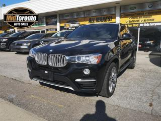 Used 2018 BMW X4 xDrive28i - Premium pkg Enhanced - No Accidents - One Owner - LOW mileage - Excellent Condition for sale in North York, ON