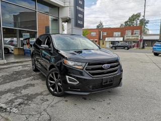 Used 2018 Ford Edge Sport | AWD | Sun Roof | Navigation | Low Km | One Owner | No Accidents | Big 401A Pkg for sale in North York, ON