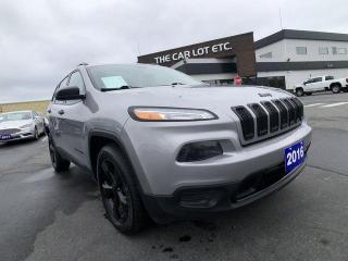 Used 2016 Jeep Cherokee Sport 4x4, back up camera etc... for sale in Sudbury, ON