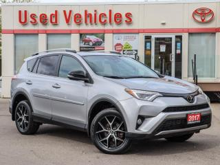 Used 2017 Toyota RAV4 SE AWD SUNROOF ALLOYS NAVI CAMERA H-SEATS FOG LAMP for sale in North York, ON
