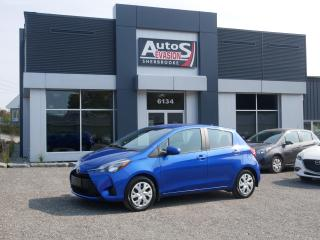 Used 2018 Toyota Yaris LE HATCHBACK + TRÈS BAS KILO + CAMÉRA for sale in Sherbrooke, QC
