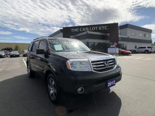 Used 2012 Honda Pilot Touring 4x4, NAVIGATION, DVD PLAYER, HEATED LEATHER SEATS, 3RD ROW, SUNROOF for sale in Sudbury, ON