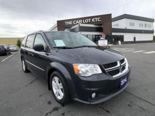 Used 2014 Dodge Grand Caravan Crew for sale in Sudbury, ON