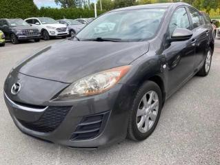 Used 2010 Mazda MAZDA3 Berline 4 portes, boîte automatique, GX for sale in Joliette, QC