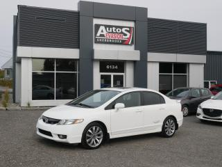 Used 2010 Honda Civic Si 4 PORTES + TOIT + INSPECTÉ for sale in Sherbrooke, QC