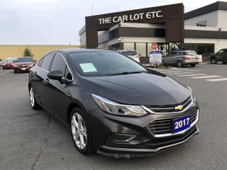 Used 2017 Chevrolet Cruze Premier Auto for sale in Sudbury, ON